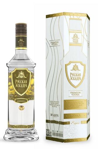 Rượu Vodka thuỷ lôi nhảy dù vàng Nga 40% 700ml