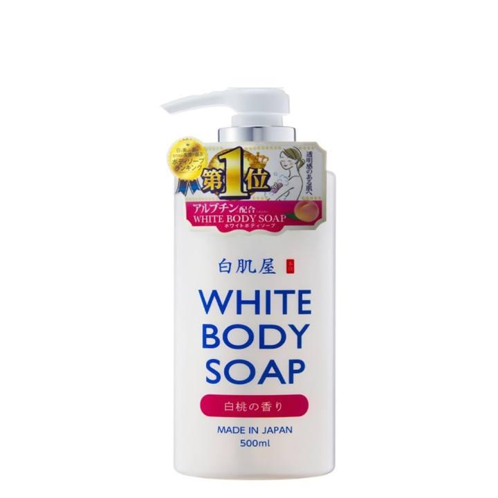 Sữa tắm trắng da White Body Soap 500ml Nhật Bản