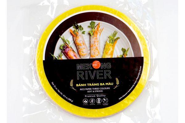 Bánh tráng ba màu Mekong River 22cm 300g