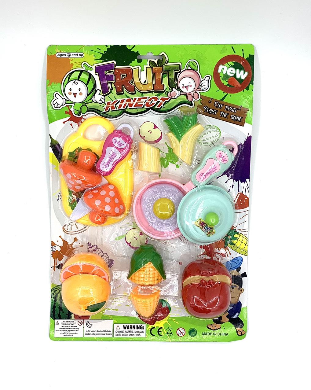 Bộ đồ chơi cắt hoa quả FD207-12