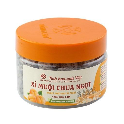 Xí muội chua ngọt Hồng Lam 200g