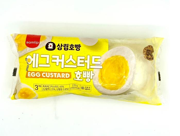Bánh bao Hopang nhân trứng sữa Hàn Quốc 270g