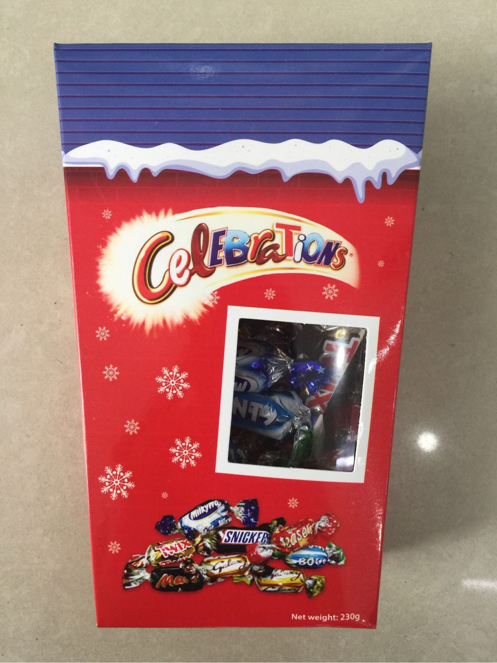 Kẹo socola Celebrations Anh 230g