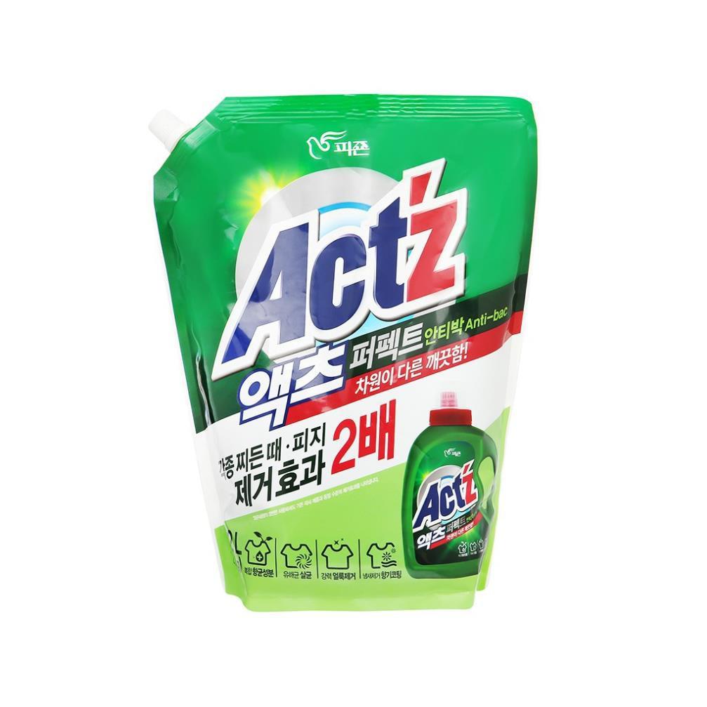 Nước giặt cao cấp Act'z Perfect kháng khuẩn 2,2L Hàn Quốc