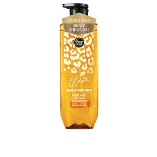 ST nước hoa Showermate Glam Gold Velvet hương trái cây 800g Hàn Quốc