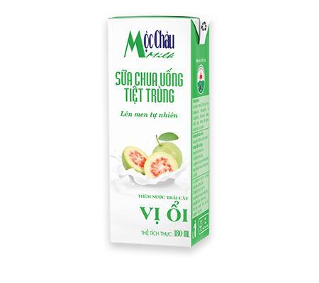 Sữa chua uống ổi Mộc châu 110ml * 48 hộp