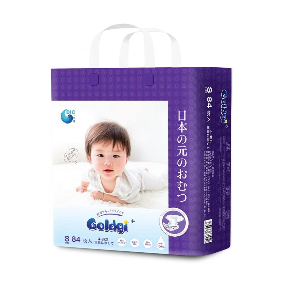 Bỉm dán Goldgi S84 Nhật Bản