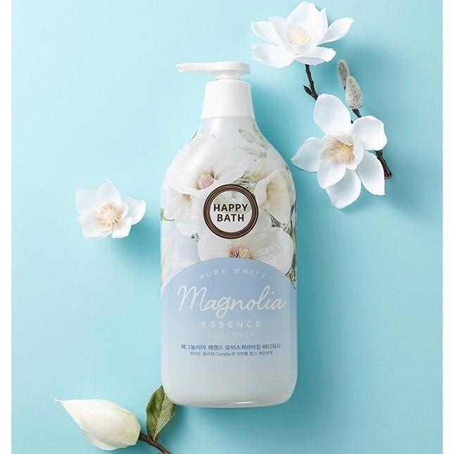 Sữa tắm Happy Bath hoa mộc lan 900g Hàn Quốc