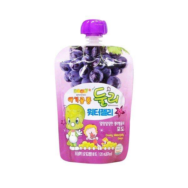 Thạch nước Dooly vị nho Hàn Quốc 120ml