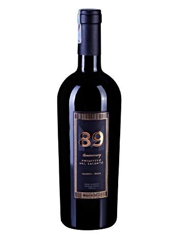 Rượu vang 89 Anniversary Salento Italia 750ml