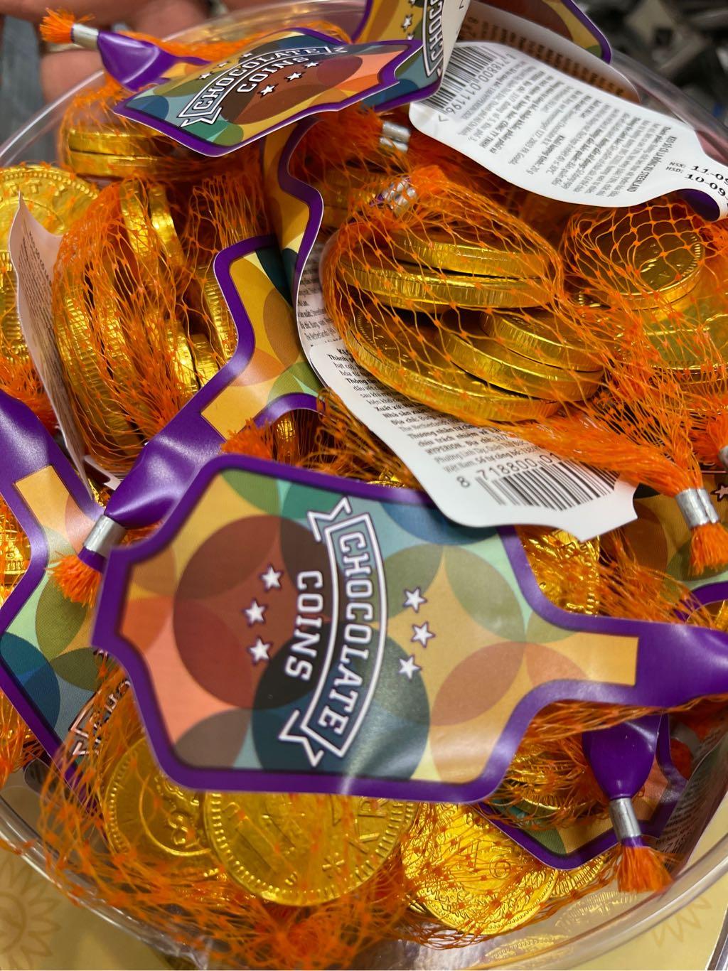Kẹo socola đồng xu Steenland 30g Hà Lan