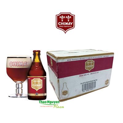 Bia CHIMAY đỏ Bỉ giá thùng 12chai 330ml 7%