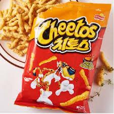 Snack Hàn Quốc Cheetos Lotte vị BBQ 82g