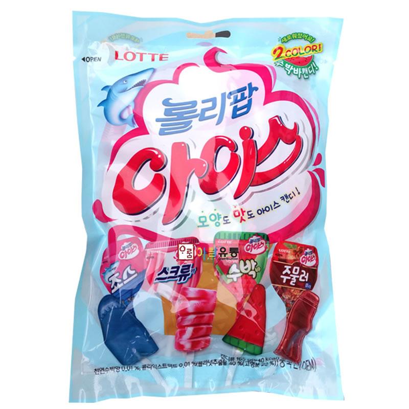 Kẹo mút Lotte Hàn Quốc 132g