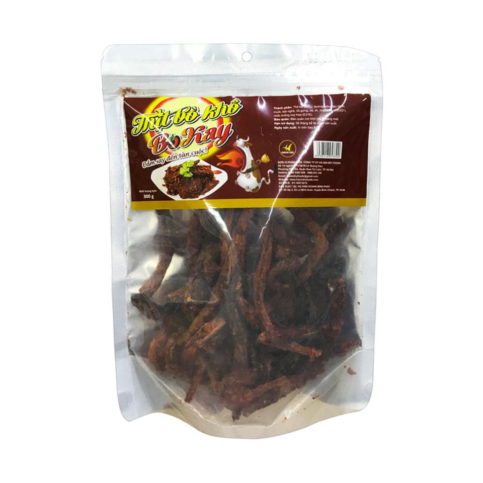Thịt bò khô BoKay 300g