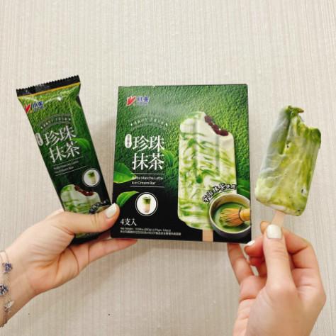 Kem sữa tươi chân trâu trà xanh Đài Loan