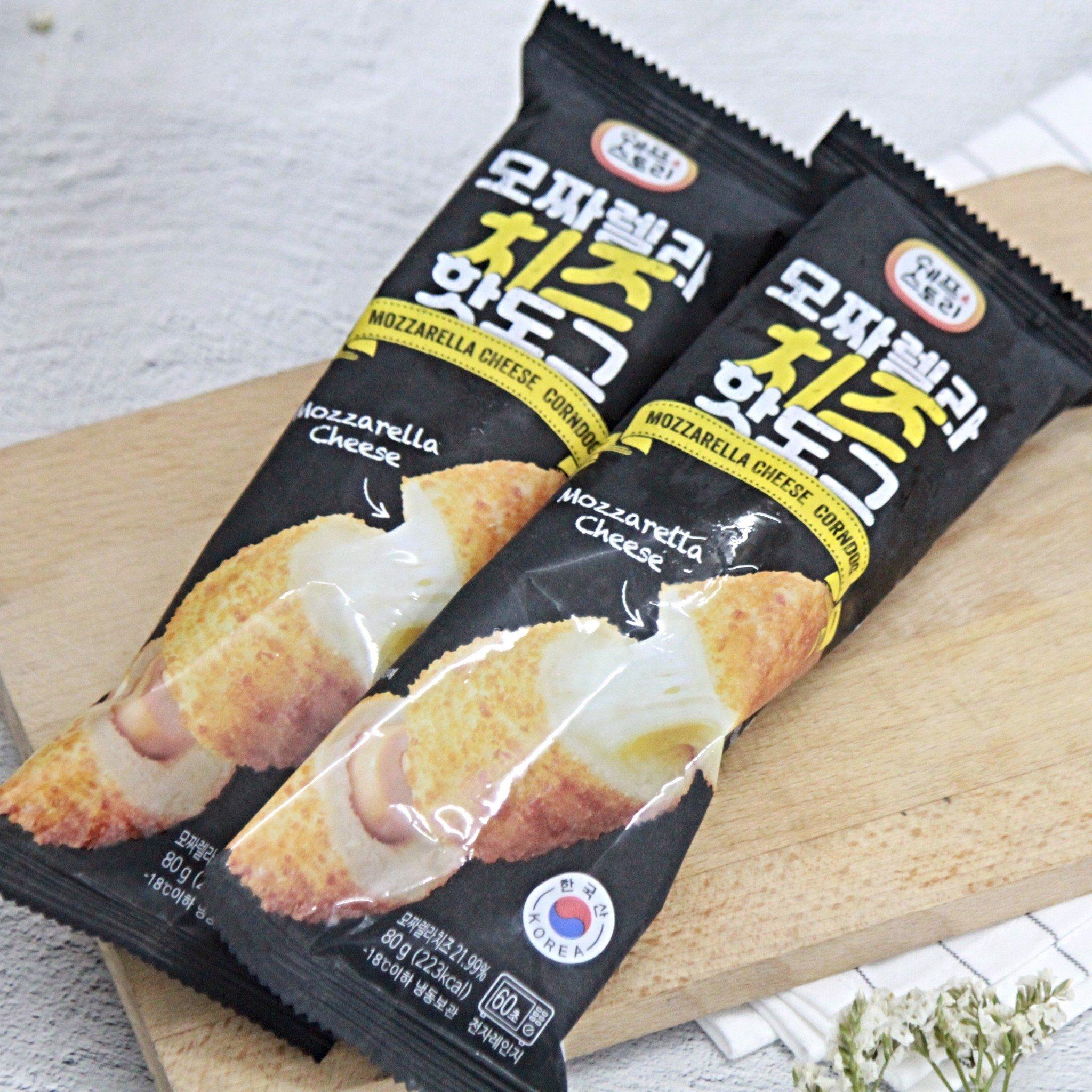 Xúc xích hotdog phô mai Mozzarella Hàn Quốc 80g