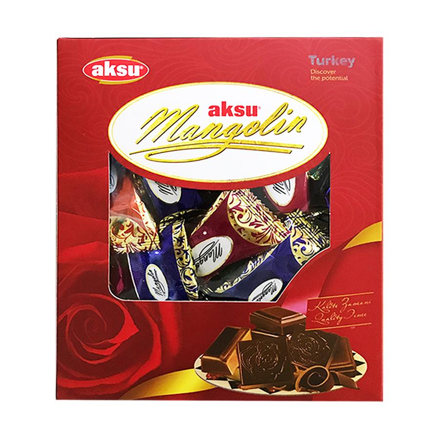 Kẹo socola Thổ Nhĩ Kỳ Aksu Mangolin 500g