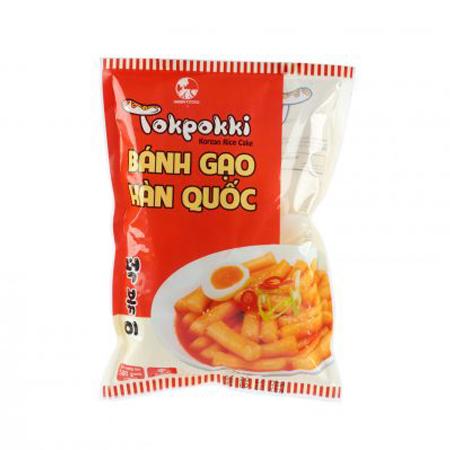 Bánh gạo Tokpokki Green Food Hàn Quốc 500g