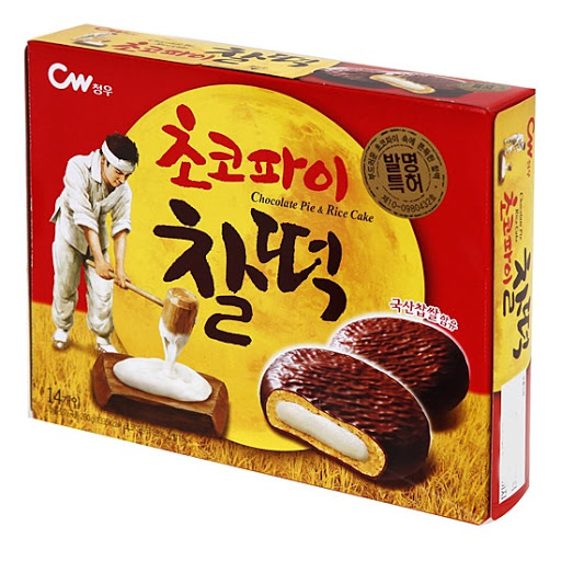 Bánh Socola Pie & Rice Cake CW Hàn Quốc 301g
