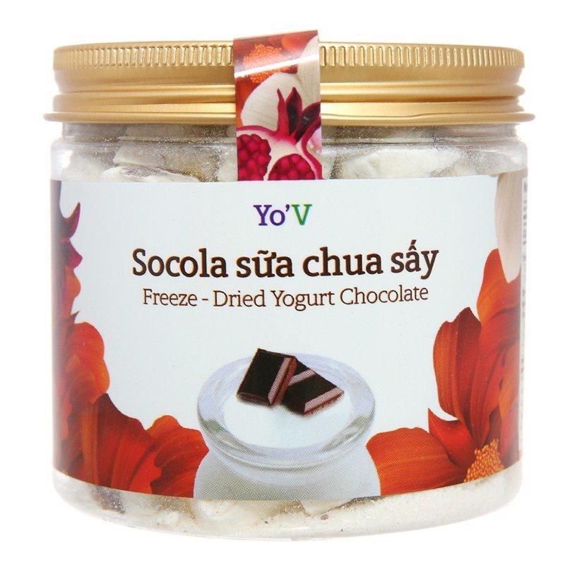 Sữa chua sấy YoV vị socola 80g