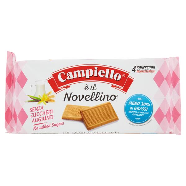 Bánh quy sữa Campiello Ý 350g
