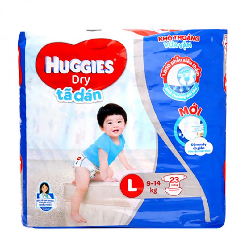 Tã dán Huggies L23