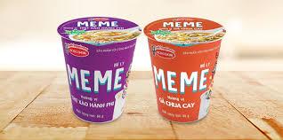Mì ly Meme thịt xào hành phi Acecook 65g