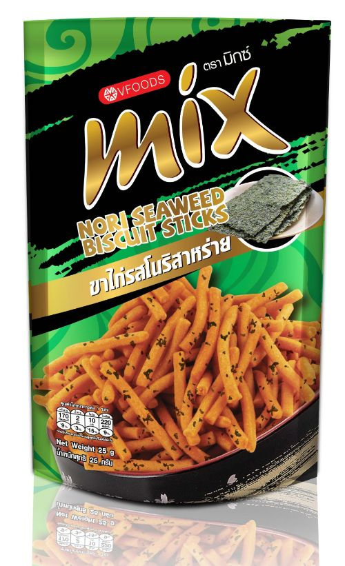 Que cay Thái Mix Seaweed rong biển 60gr*48