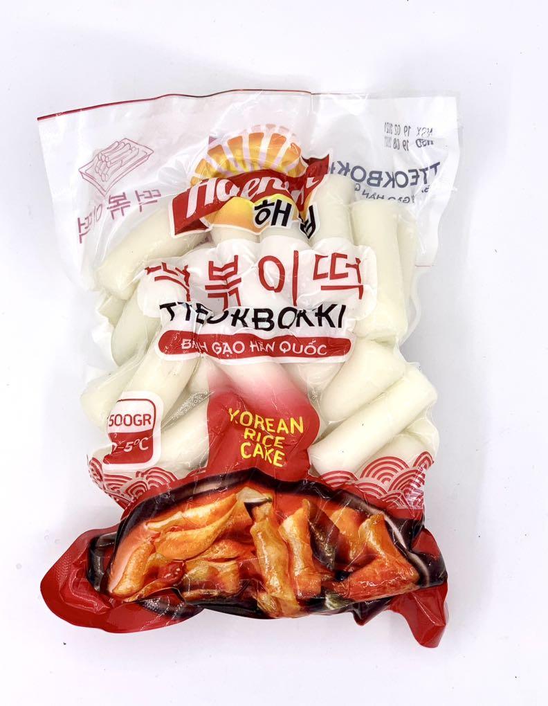 Bánh gạo Hàn Quốc Haenim 500g
