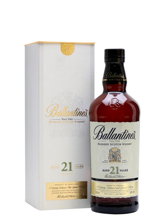 Rượu Whisky Ballantines 21 Years 40% Singapore 700ml