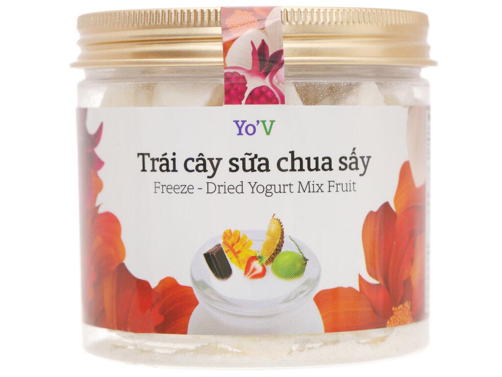 Sữa chua sấy YoV thập cẩm trái cây 60g
