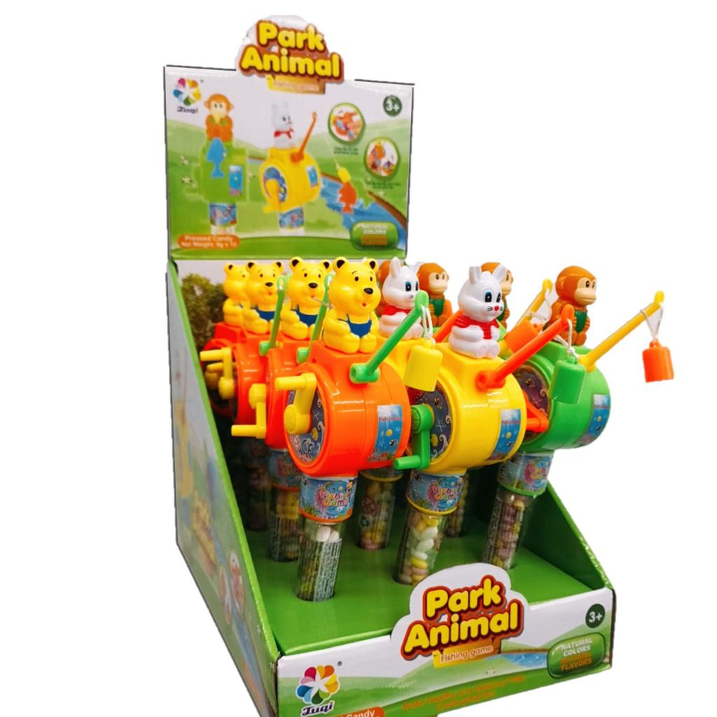 Kẹo đồ chơi cần câu cá Fishing Game