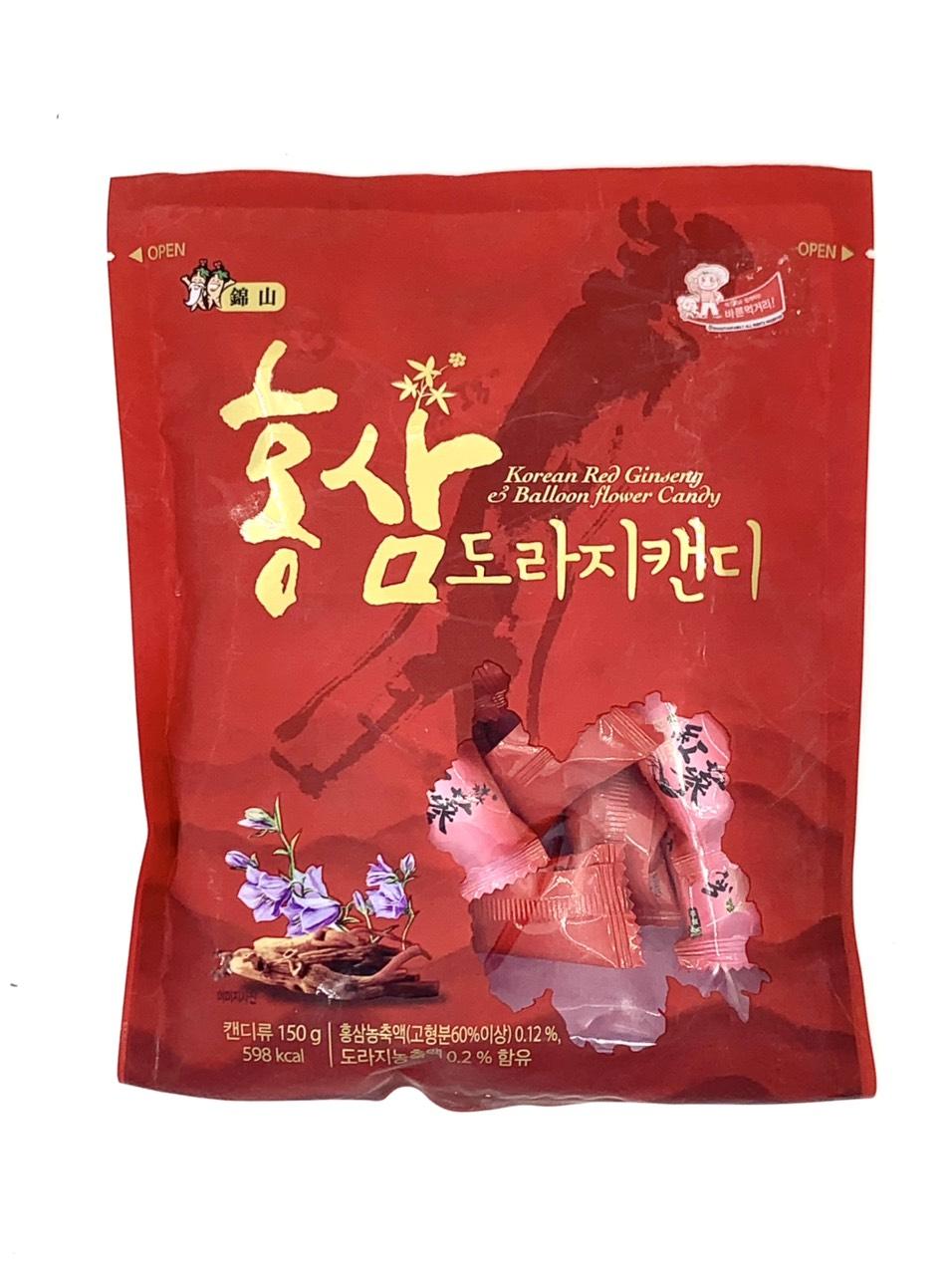 Kẹo hồng sâm Arirang Hàn Quốc 150g