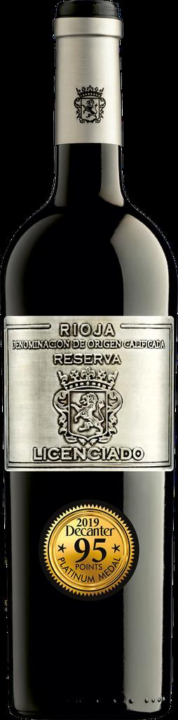 Rượu vang Licenciado Rioja 2016 Reserva 13,5% 750ml