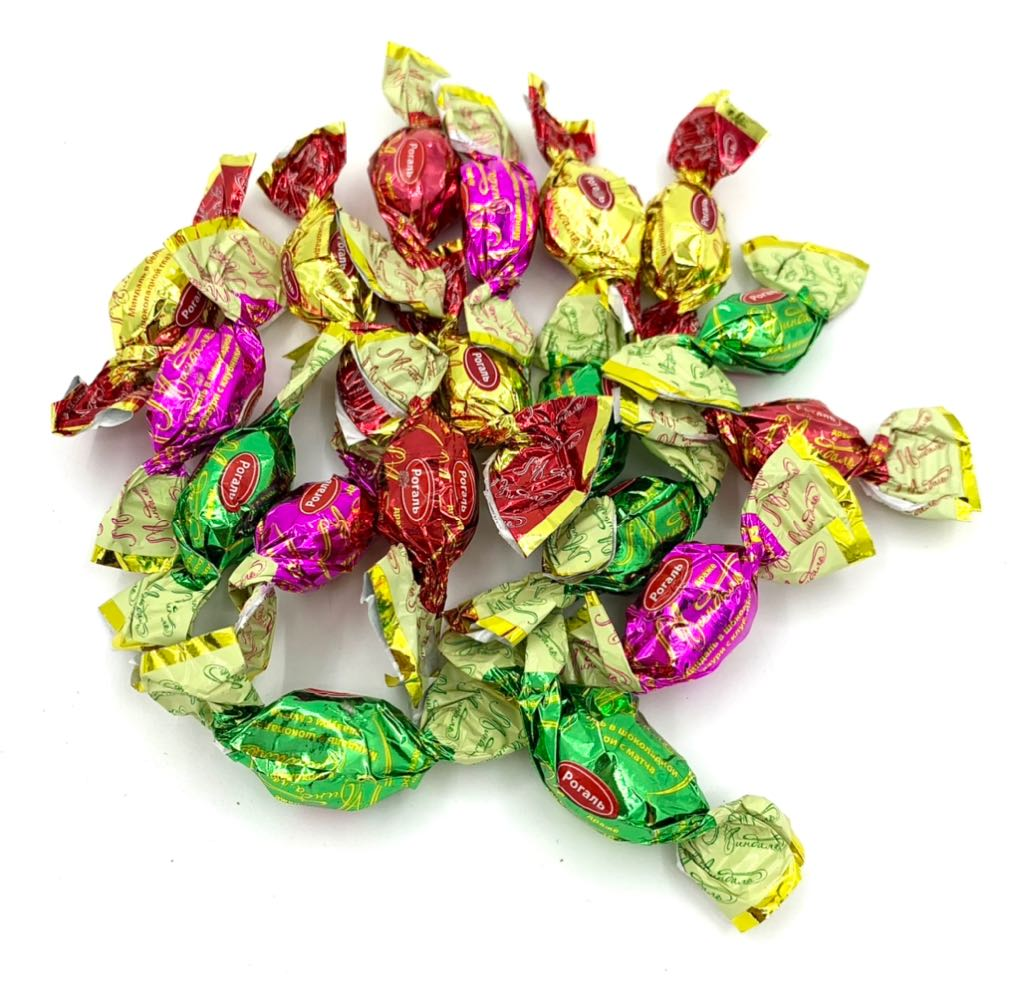 2021.32 Kẹo socola nhân hạnh nhân tổng hợp