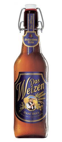 Bia Schwaben Brau Das Weizen Đức 500ml
