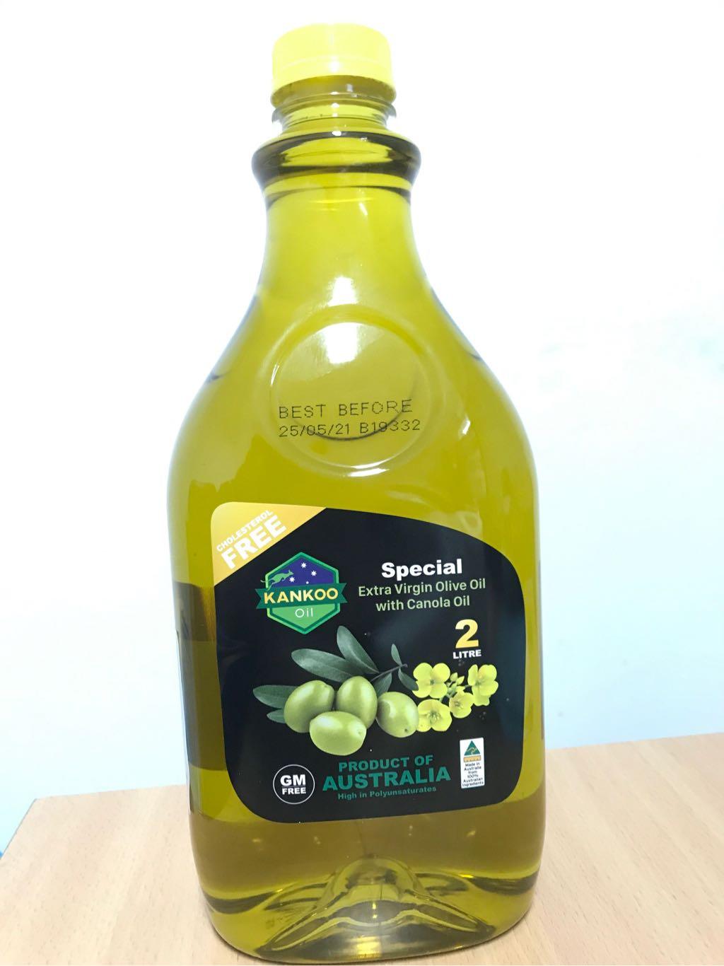 Dầu Oliu Extra Virgin hạt cải Kankoo Úc 2L