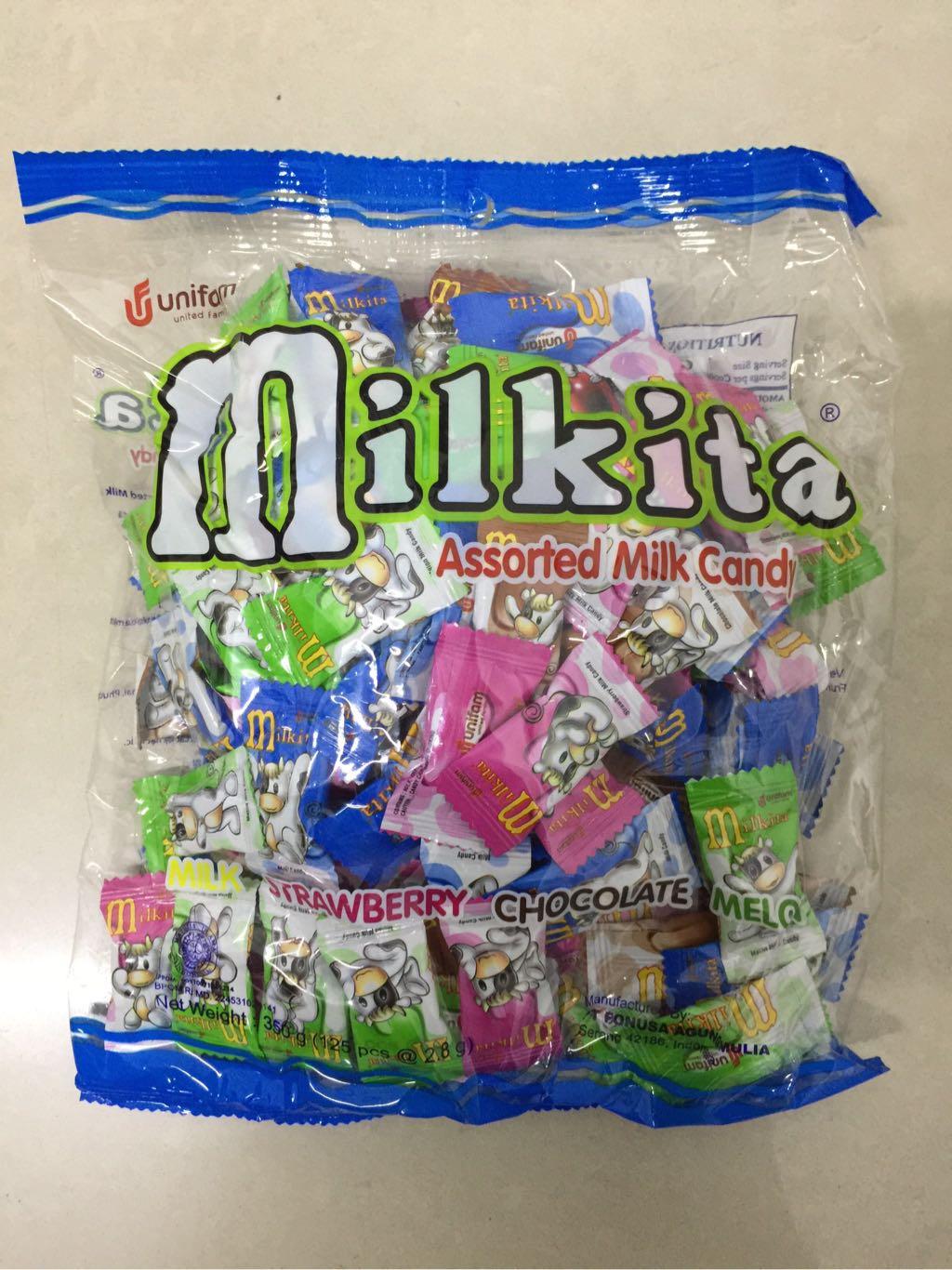 Kẹo sữa hỗn hộp gói 125 viên*8