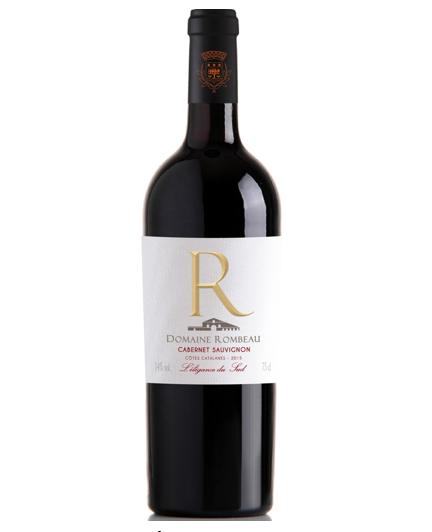 Rượu vang đỏ chát Domaine Rombeau Merlot 2014 Pháp 750ml
