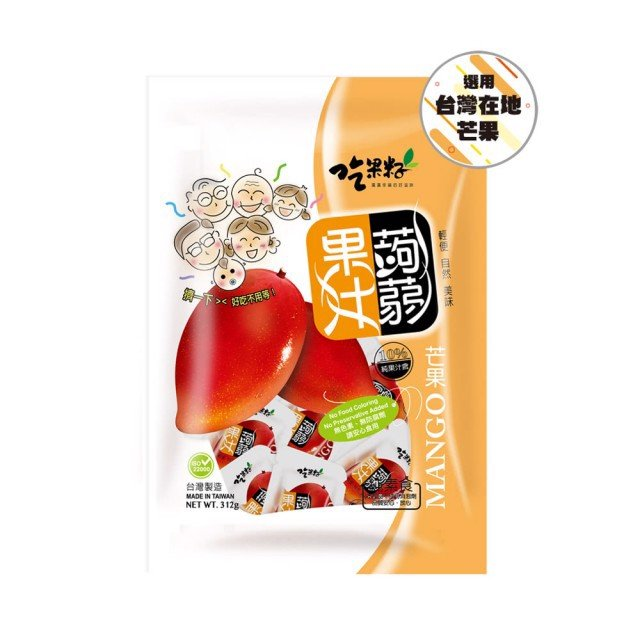 Thạch ăn chay vị xoài Mango Đài Loan 156g
