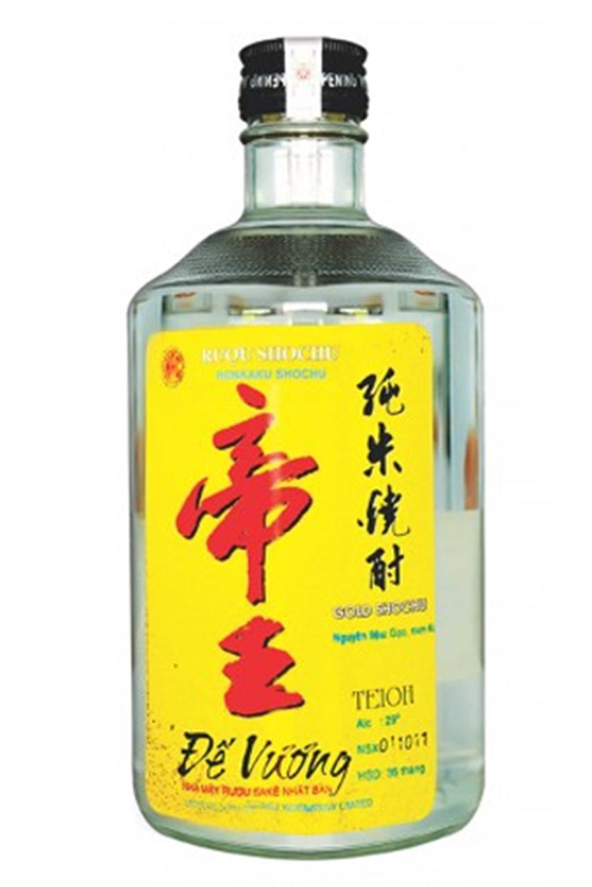 Rượu SHOCHU Đế Vương Vàng 750ml