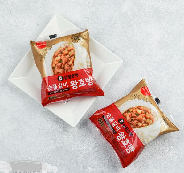Bánh bao Hopang vị sườn nướng Hàn Quốc 120g