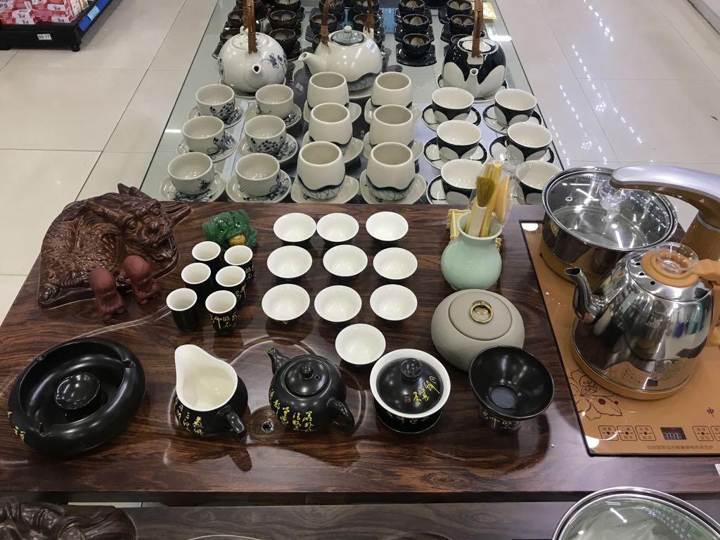 Bộ bàn trà Tượng Rồng ( Bộ đầy đủ)