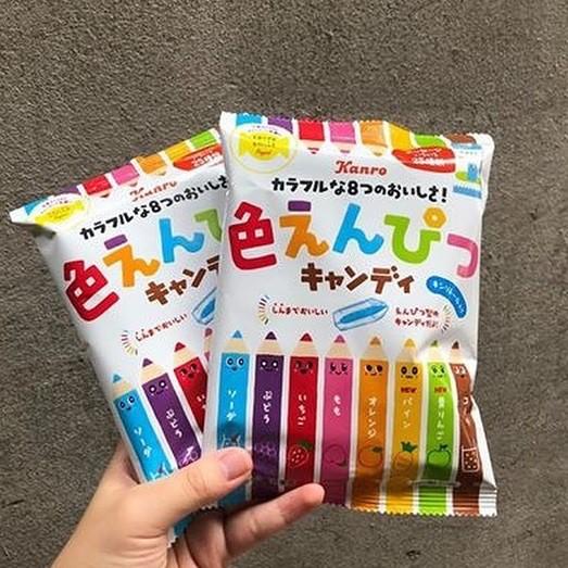 Kẹo bút chì Nhật Bản Kanro 80g (mẫu mới)