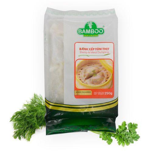 Bánh xếp tôm thịt bamboo 500g