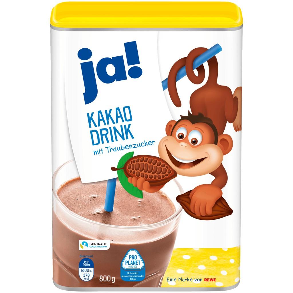 Bột cacao Đức Ja! - Kakao Drink 800g