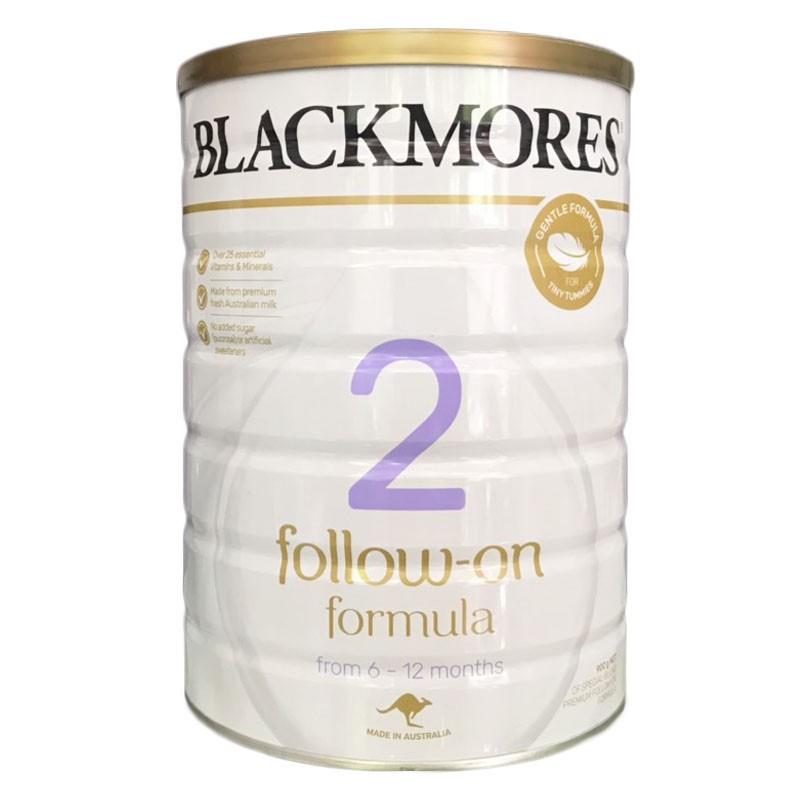 Sữa bột Black More số 2 Follow on Formula (6-12 tháng) Úc 900g