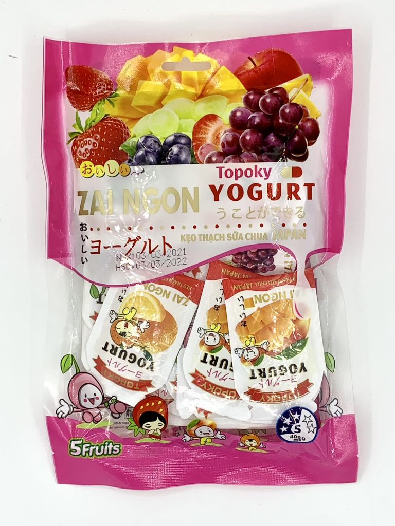 Kẹo thạch sữa chua Japan Yogurt 400g