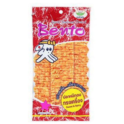 Snack mực tẩm gia vị cay ngọt Bento Thái 24g